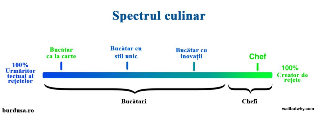 Spectrul Bucătar-Chef